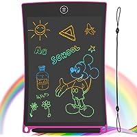 GUYUCOM Tablette Dessin Enfant 8,5 Pouces Ecriture LCD et Tablette Magique Enfant pour Les Enfants avec Une Ligne…