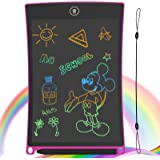 GUYUCOM LCD Writing Tablet, 8.5 inch Drawing Board Erasable Doodle Board with Lock Function for Kids Learning Tool Birthday G