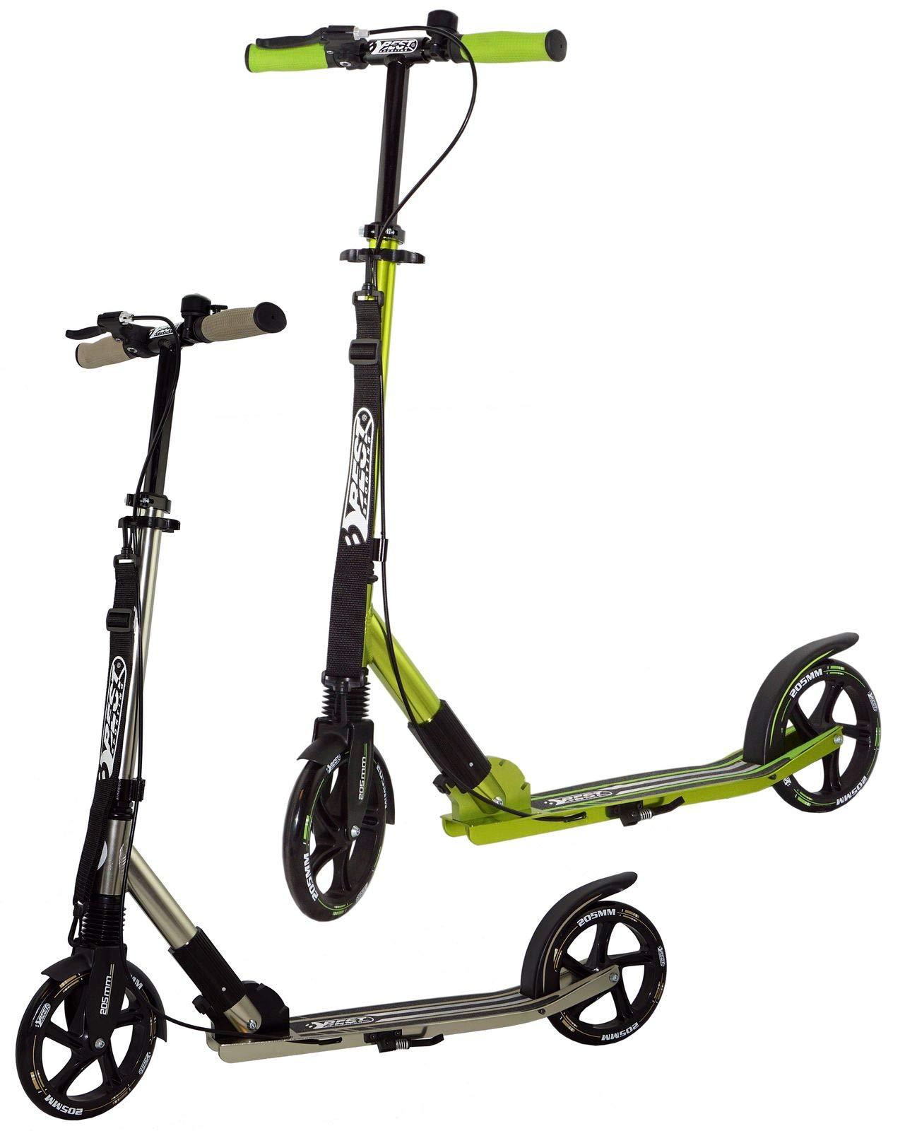 best sporting scooter 205er rolle high class klappbarer. Black Bedroom Furniture Sets. Home Design Ideas