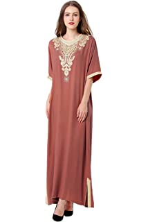 Musulmane robe de mariée caftan kaftan jalabiya femmes musulmanes vêtements    Islam longue jupe robe 789115a5723