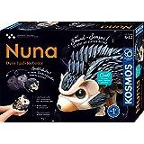 Kosmos 620066 Nuna – din igelkott robot, bakåtrullande genom klapp, han springer, rullar ihop sig, ställer upp sina ryggar, s