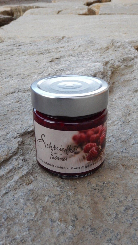 Confettura di Lamponi 250 gr. - Schmiedhof Val Passiria Alto Adige