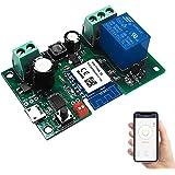 Newgoal WiFi Jog-relais Momentary/Zelfvergrendelende schakelaar DIY-module Smart Home Automation APP-bediening Compatibel Ale