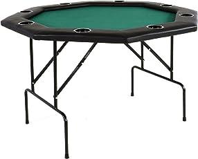 Nexos Profi Casino Pokertisch klappbar 8 eckig 120 cm