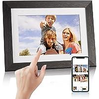 WiFi Digitaler Bilderrahmen, trancoss Touch 8 Zoll Elektronischer Bilderrahme 1280 * 800 IPS Display 16GB Automatische…