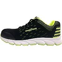 Goodyear Métal Libre Composite Toe Crevaison Travail résistant Chaussures de sécurité, Construction Boot Homme, Vert…