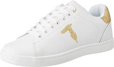 Trussardi Jeans Sneakers Glitter Patch, Scarpe con Lacci Donna