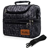 winmax Sac Isotherme Repas Femme Homme Lunch Box Bag Sac à Déjeuner Thermique Sac glacière pour Enfant Travail…