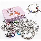 longyisound - Set di braccialetti fai da te, gioielli per ragazze, regali da 8 a 12 anni, braccialetti fai da te, per ragazze