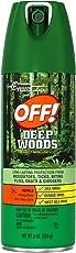 OFF! Deep Woods Insect Repellant Aerosol Spray (6oz)