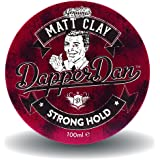 Dapper Dan Matt Clay, Cire Effet Mat, Produit coiffant pour homme à tenue forte et finition mate, 1 x 100 ml