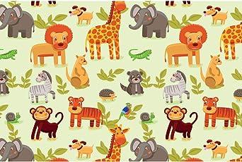 ArtzFolio Cartoon Animals Art & Craft Gift Wrapping Paper 18 x 12inch;SET OF 10 PCS
