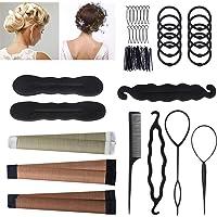 URAQT Accessori per Capelli Set per acconciatura capelli donna bambina Hair style di successo set per lo styling…