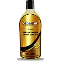 Clenom Instant Brass, Copper Metal Cleaner (Safe on Hands)(Cleaning Liquid Polish )-(210ml Pack Of 1) for Chrome, Copper…