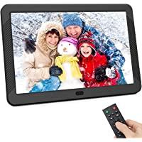 Digital Photo Frame 8 inch, Kenuo Digital Picture Frame with 1920x1080 IPS Screen Image Preview, Auto-Rotate, Remote…