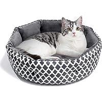 JOYO Hundebett Katzenbett Weiches und Warmes Haustierbett, Flauschiges und Waschbares Hundesofa mit Zweiseitig…
