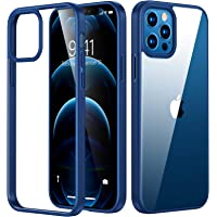 TORRAS Diamond Series Hülle für iPhone 12 und 12 Pro Vergilbungsfrei Transparent Starke Stoßfestigkeit Unzerstörbare…