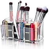 Maojuee Organizer per Cosmetici Organizzatore Trucco in Acrilico Porta Trucchi con 6 Scomparti Cosmetic Organizer Porta…