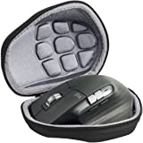M.G.R.J® Portable Carrying Protector Case Cover for Logitech MX Master/Master 2S / Master 3 Wireless Mouse (with Cushion & La