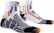 X-Socks Run Speed Two Chaussettes Homme, Multicolore (Blanc/Gris/Noir/Orange), 39-41 EU