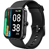 Smartwatch, YONMIG 1,69'' Full Touch Schermo Orologio Fitness con Alexa Integrata/Saturimetro(SpO2), Cardiofrequenzimetro da