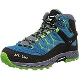 SALEWA Jr Alp Trainer Mid Gore-Tex, Scarponi da Trekking e da Escursionismo Unisex-Bambini