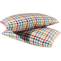 """Cost Plus 100% Cotton Pillow for Sleeping Medium Hard (Pack of 2) (16""""X 25"""" INCH)"""