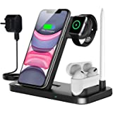 Innoo Tech Wireless Charger, 4 in 1 Wireless Charger Station for iPhone 11/11pro/11pro Max/X/XS/XR/Xs Max/8/8 Plus Galaxy S10