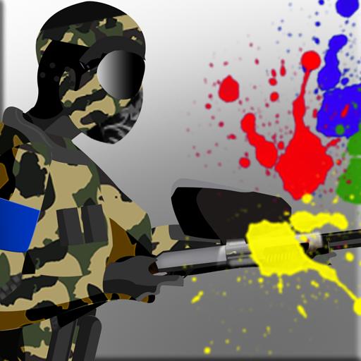 paintball zona de guerra: el juego de acción táctica de comando - edición gratuita