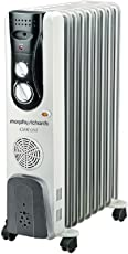 Morphy Richards OFR 09F 2400-Watt Oil Filled Radiator (Grey)
