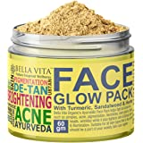 Bella Vita Organic De Tan Removal Face Pack For Fairness,Whitening, Skin Tightening, Glow & Sun Protect For Women and…