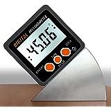 Nrpfell Digital Inclinometer Spirit Level Box Protractor Angle Finder Gauge Meter Bevel