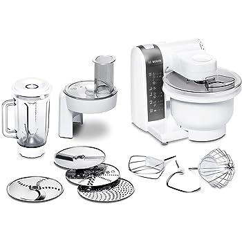 Amazon.de: Bosch MUM48020DE Küchenmaschine 600 W, 3, 9 L ...