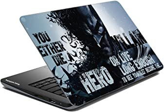 Paper Plane Design Super Heroes Collection Laptop Skins Sticker For Dell, Hp, Toshiba, Acer, Asus & All Models (Upto 15.6 inches)