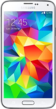 Samsung Galaxy S5 de 16GB, Smartphone Libre Blanco - (Reacondicionado)