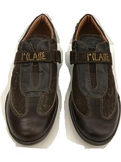 a7d6deb57337 1a CLASSE ALVIERO MARTINI Sneakers Homme Daim Noir 44 EU  Amazon.fr ...