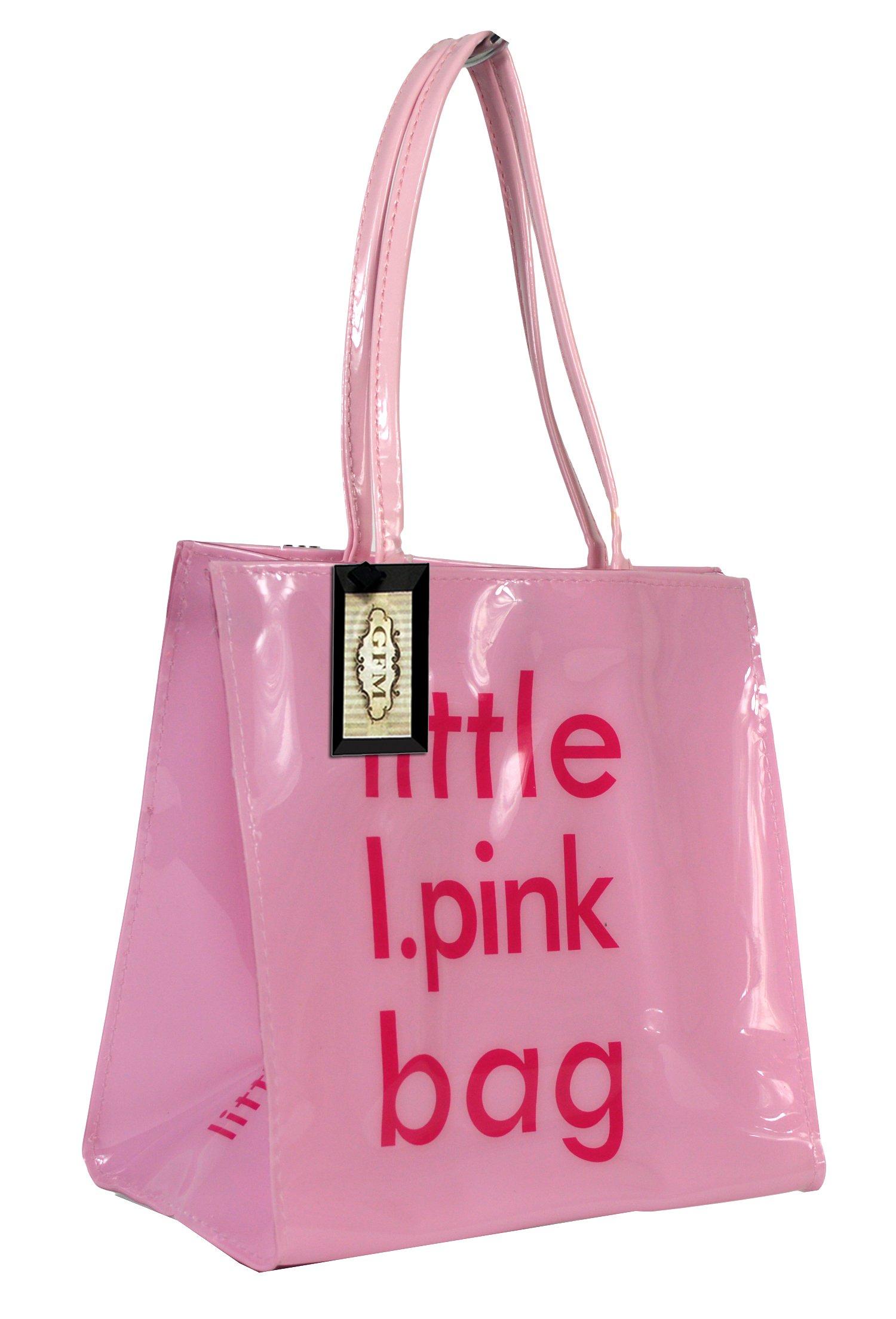 f1d2753a14a21 Descrizione. PVC piccola o media riutilizzabile Shopper o borsa per ...