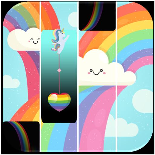 Rainbow Piano Tiles 2018