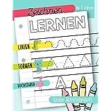 Zeichnen lernen: Linien Formen Buchstaben: Kinder Aktivitätenheft: Ab 3 Jahren: Ein Aktivitätenheft für Kleinkinder, Vorschul
