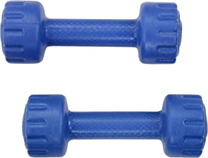 Body Maxx PVC Dumbells Kit (1Kg Upto 5 Kg)