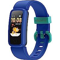 BIGGERFIVE Vigor Fitness Armband Uhr für Kinder Mädchen Junge Teenager, Fitness Tracker Smartwatch mit Schrittzähler…