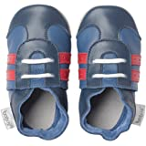 Bobux BB 4237 - Scarpe sportive per bebè, blu navy/rosso
