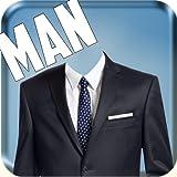 Man Suit - CV Fashion Photo Montage