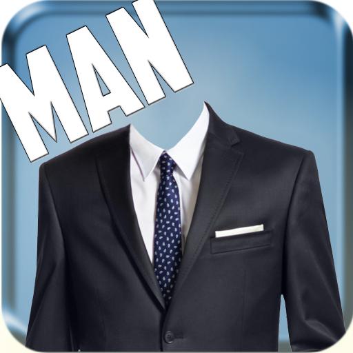 Man Suit - CV Fashion Photo Montage -