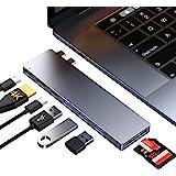 Ofima USB C Hub, MacBook Pro Air Adapter, USB-C Thunderbolt 3 100W PD, HDMI 4K, 3 USB-A 3.0 & USB-C, SD/TF Kartenleser…