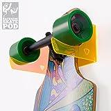 WANDKINGS Skateboard Wandhalterung - Backside Variante - Wähle Eine Farbe