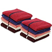 Palatial Lifestyles 10 Piece Face Towel Set.Ultra-Soft for Sensitive Skins,Highly Absorbent & 100% Cotton Zero Twist…