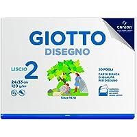 Giotto Album Disegno 2, A4, Carta Liscia, 583100