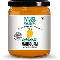 Natureland Organics Mango Jam 250 Gm - Healthy Organic Jams