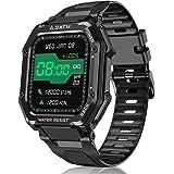 """Smartwatch Reloj Inteligente Hombre Mujer, 1,69"""" Relojes Inteligentes con Pulsómetro, Podómetro, Presión Sanguínea, 20 Modos"""